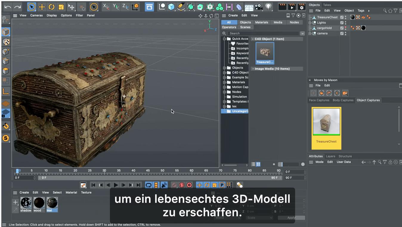 Screenshot aus Keynote