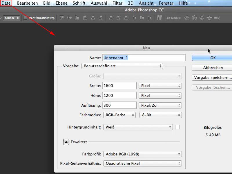Voreinstellungen für Photoshop 3D | PhotoshopTutorials.de