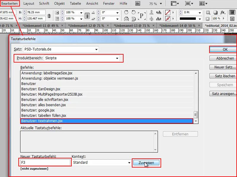 InDesign Rahmen anpassen, InDesign Textrahmen, Größe anpassen ...
