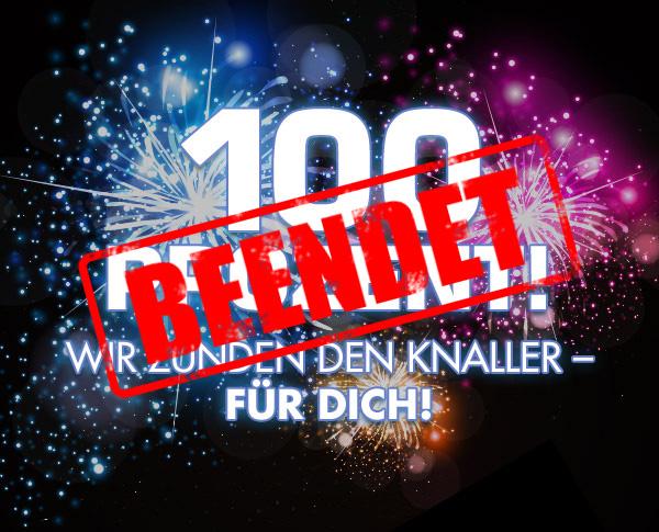 100 Prozent Aktion PSD-Tutorials.de beendet