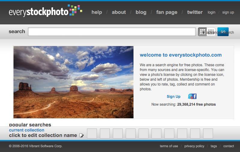 Screenshot: Screenshot: everystockphoto.com