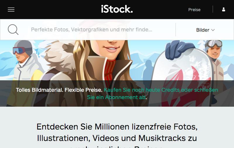 Screenshot: de.istockphoto.com