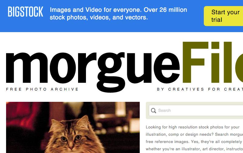 Screenshot: morguefile.com
