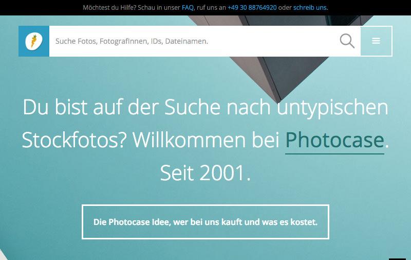 Screenshot: photocase.de
