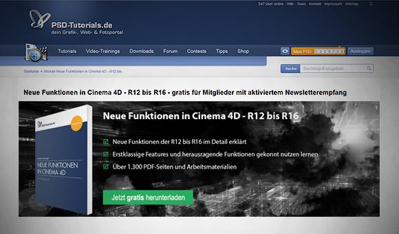 Cinema 4D - Training