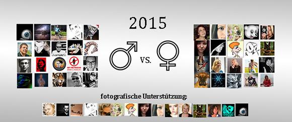 Männer vs. Frauen 2015