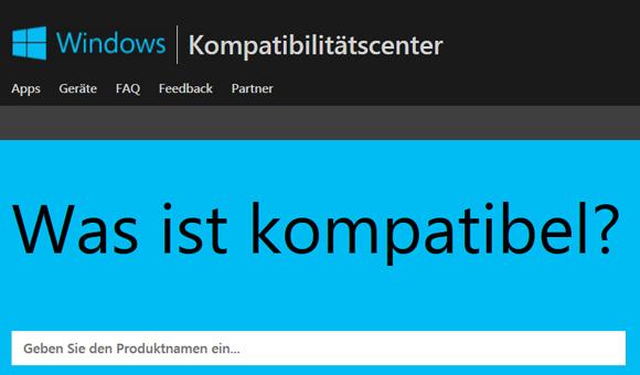 News Kompatibel mit Windows 10