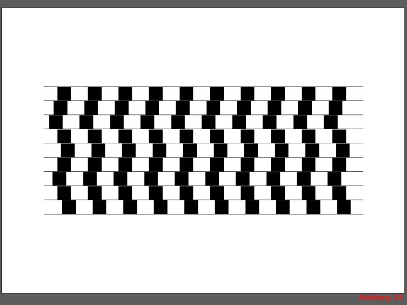 Optische Illusionen Optische Tauschungen Zeichnen Illustrator