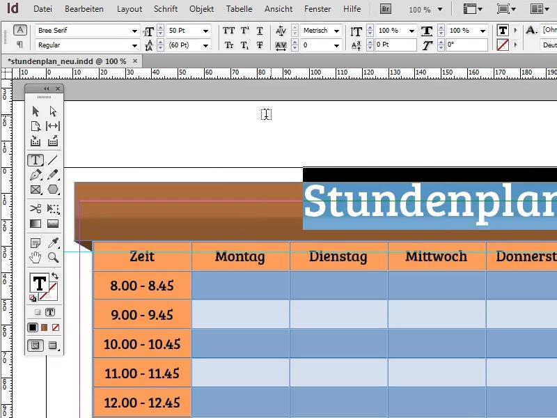Banner: Überschrift erstellen und grundlegend formatieren