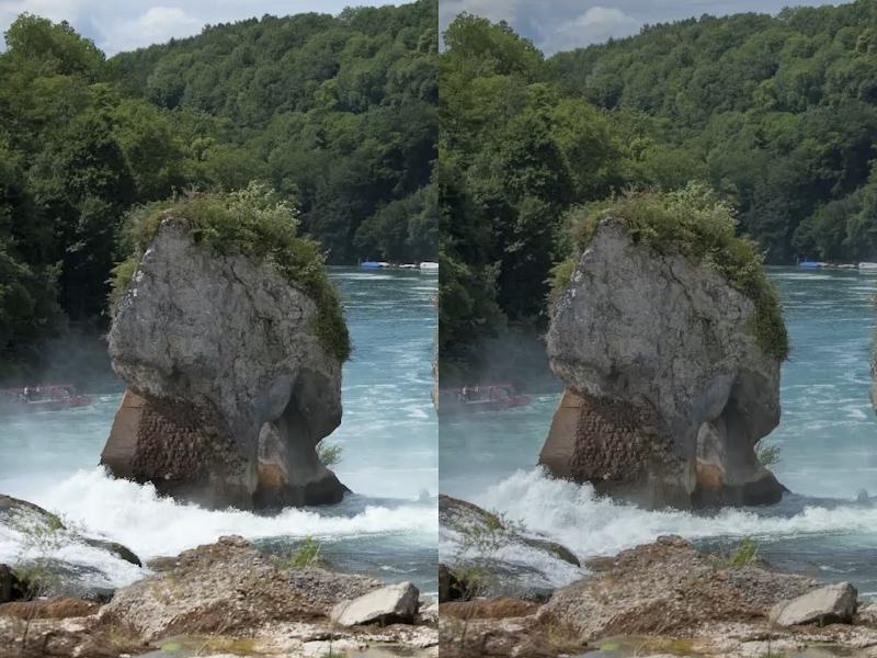 Camera Raw: Beispielbild: Direktvergleich