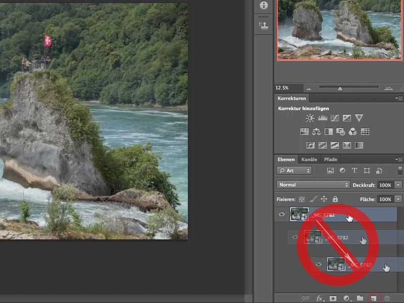 Photoshop: Smart-Objekt kopieren: Falsch