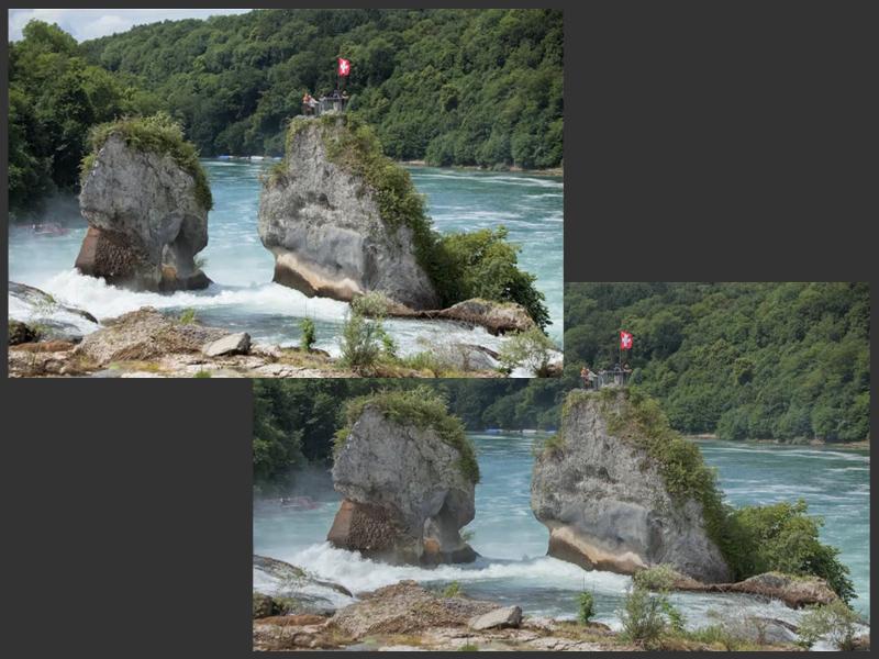 Wechsel zu Photoshop + Direktvergleich