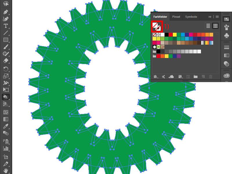 Illustrator: eigene Kontur erstellen