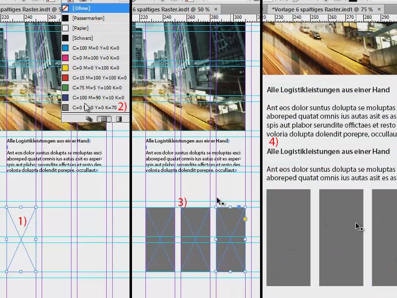 Grundlinienraster InDesign – Satzspiegel InDesign | InDesign ...