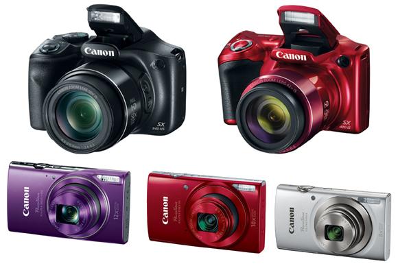 Canon Powershot Kameras