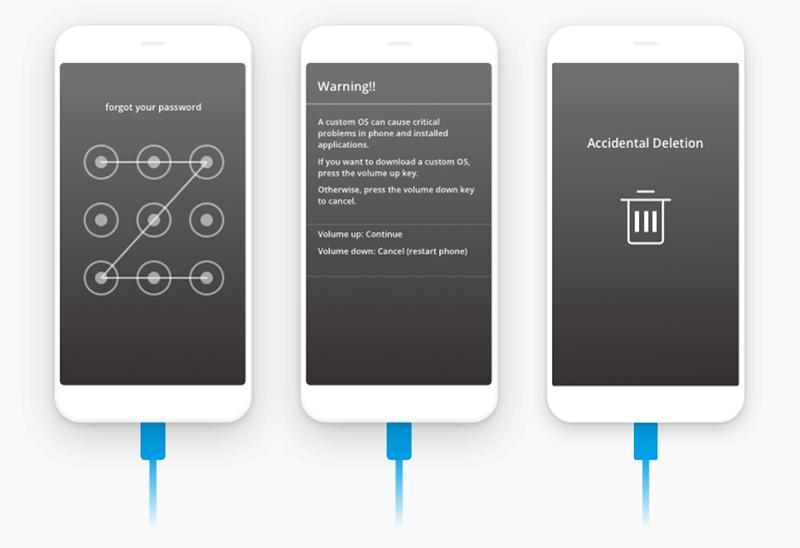 Screenshot Dr.Fone: Dr.Fone unterstützt mehr als 6.000 Android-Gadgets.