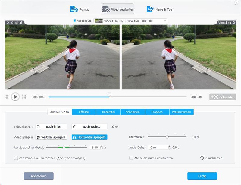 VideoProc: Videos bearbeiten