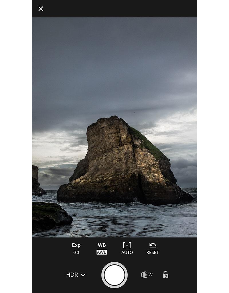Lightroom Mobile: Modus zur Raw-HDR-Aufnahme