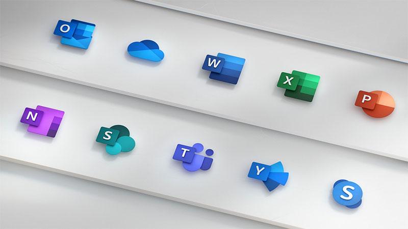 Neue Office Icons von Microsoft