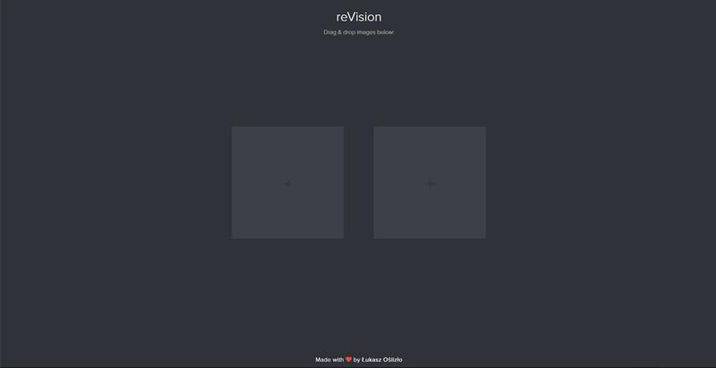 Oberfläche von reVision