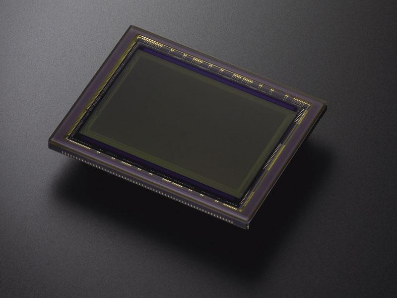 Sensor einer Vollformat-Kamera