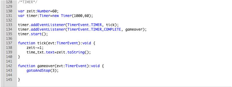 Timer Code