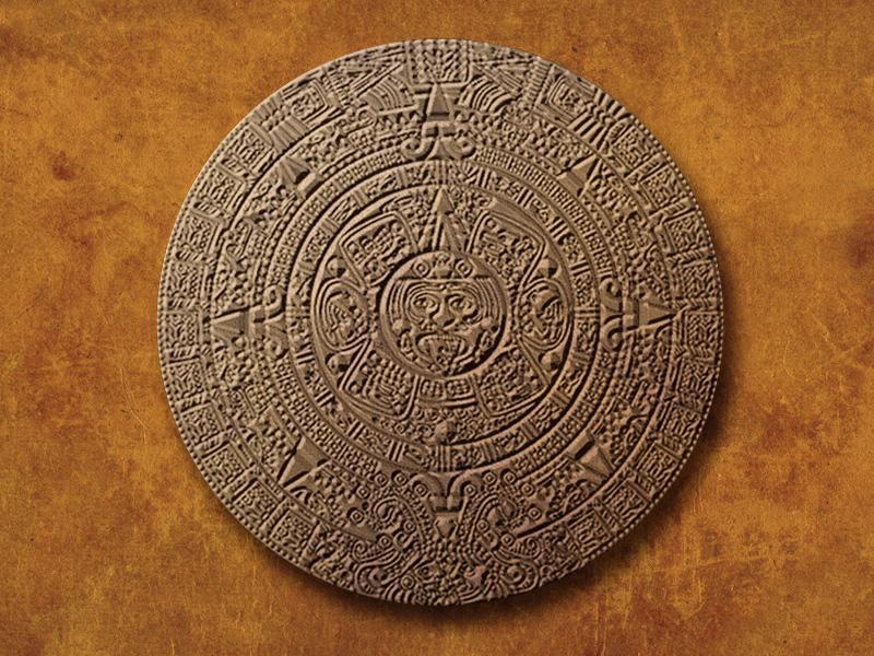 Altes Azteken-Fundstück