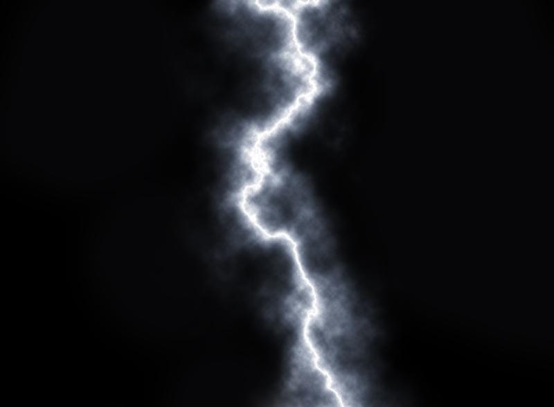 Einfacher Blitz