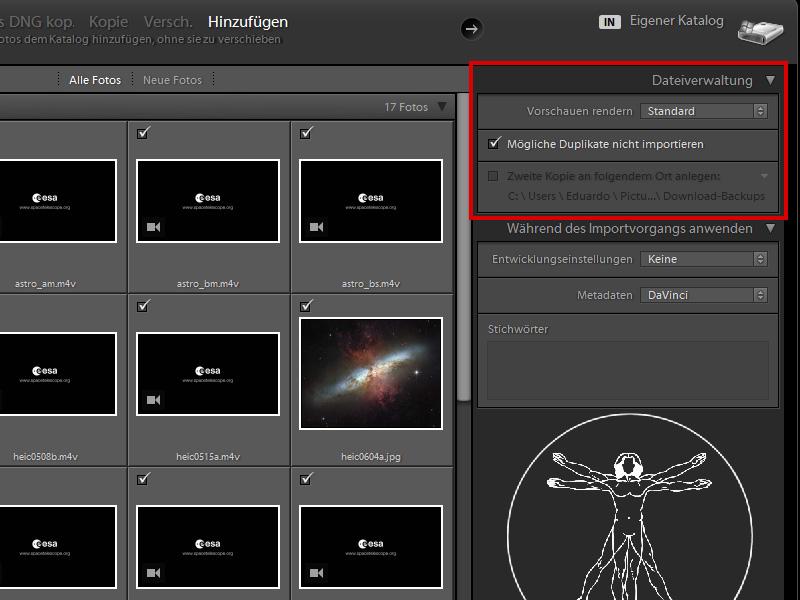 Videos importieren | Photoshop-Lightroom-Tutorials.de