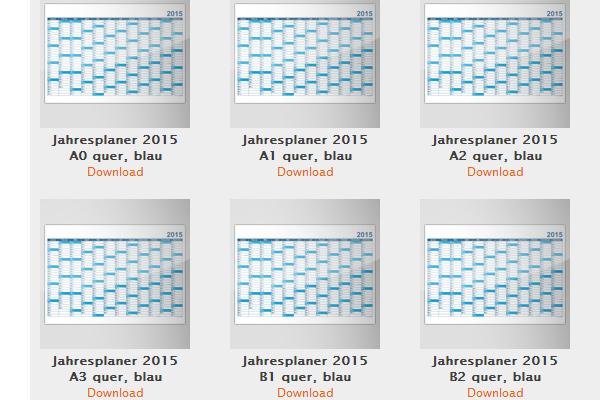 News Kalender Vorlagen Für 2015 Zum Kostenlosen Download