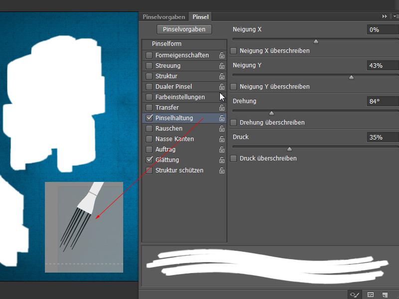 neue funktionen in photoshop cs6 pinsel und pinselvorgaben. Black Bedroom Furniture Sets. Home Design Ideas