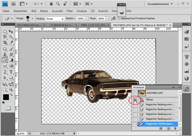 Erstellen und Ändern von Pinseln in Adobe Photoshop