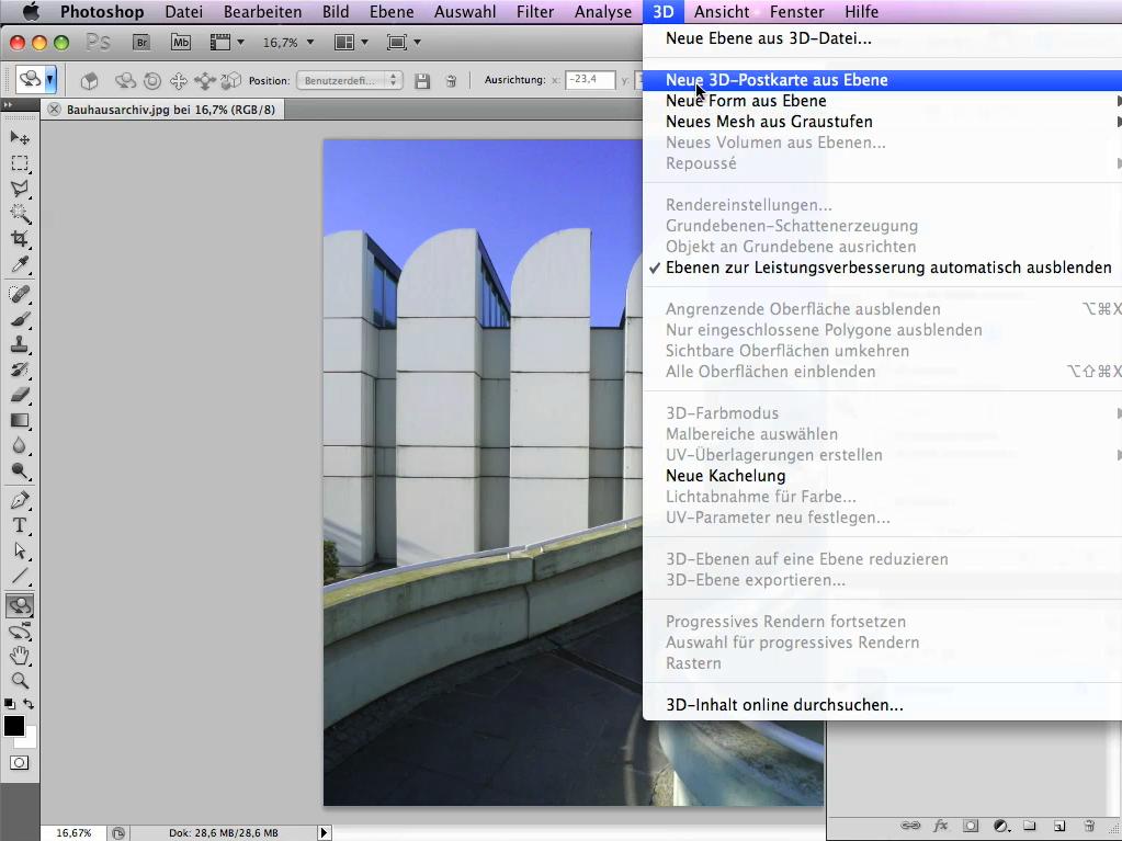 Tutorial Neue Funktionen In Photoshop Cs5 Repoussé Objekt Erstellen