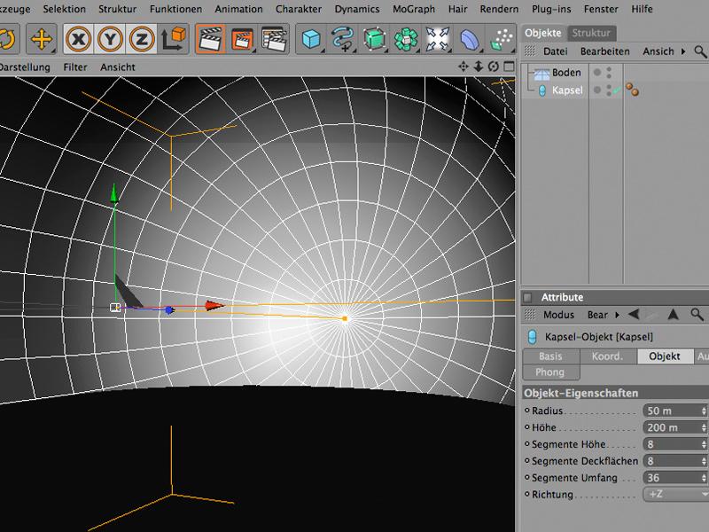 Einfache 3d r ume gestalten mit cinema 4d c4d for Cinema 4d architektur