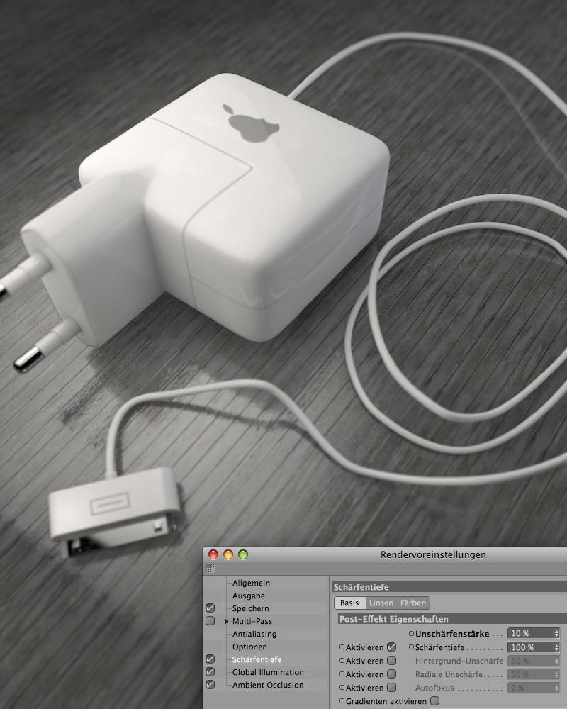 tutorial scharfe optik oder wie man tiefensch rfe in cinema 4d erzeugt. Black Bedroom Furniture Sets. Home Design Ideas