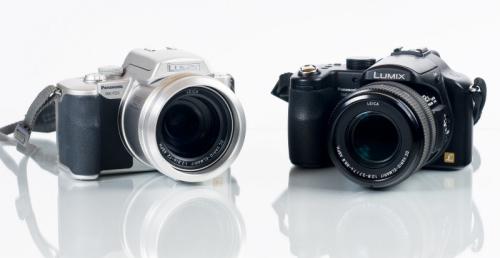 Panasonic FZ20 und FZ50