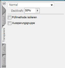 Tranzparenz-Palette