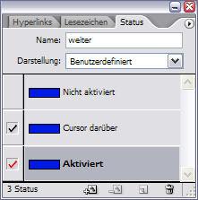 Status-Palette