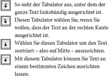 Erklärung zu Tabulator