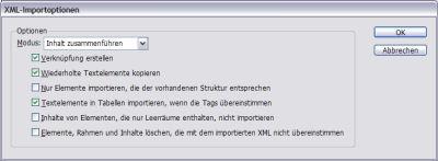 XML-Import