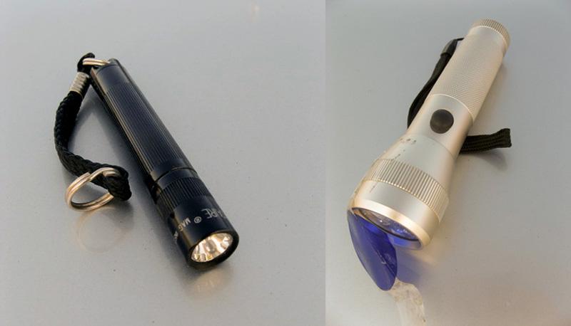Taschenlampe mittelgroß