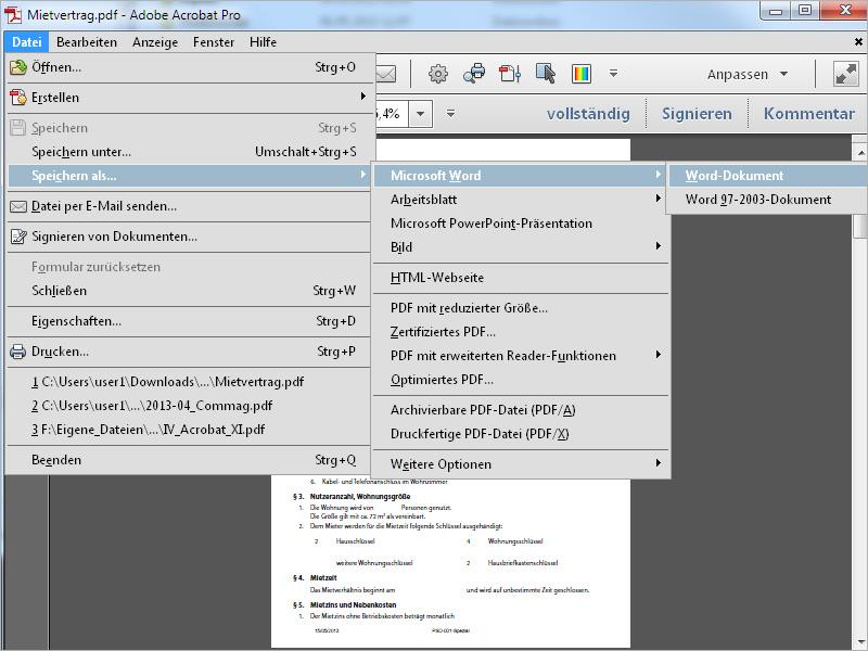 Bilder und Text aus PDF-Dateien extrahieren und als Office-Dokument ...