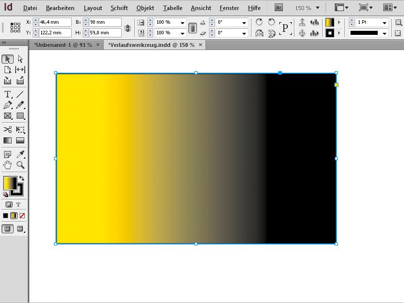 bestimmter dunkler farbton