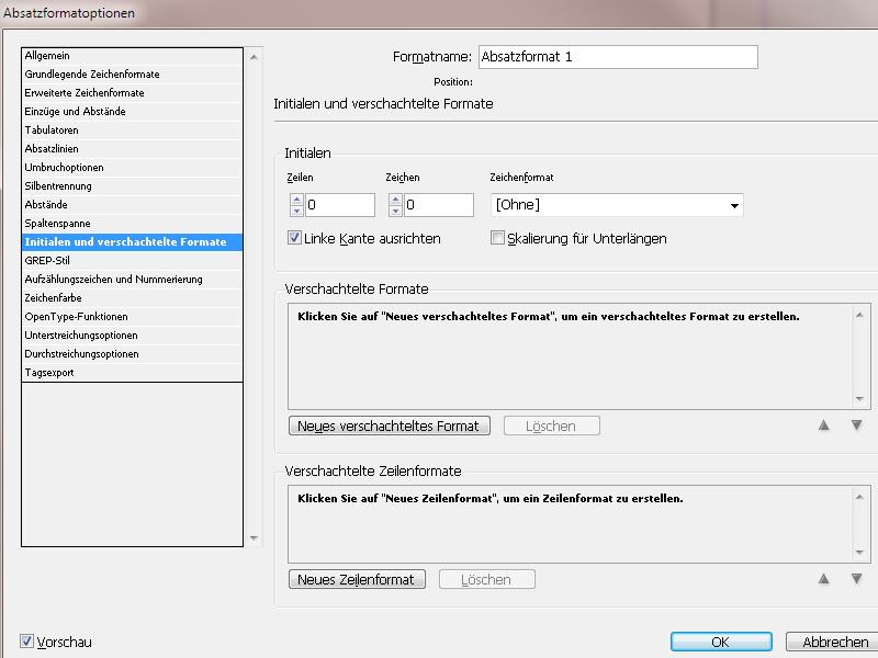 Absatzformate InDesign – Zeilenabstand InDesign | InDesign-Tutorials.de