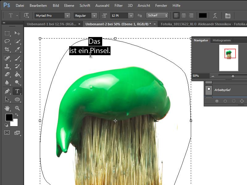 Pfaderstellung mit Adobe Photoshop CS6 | PhotoshopTutorials.de