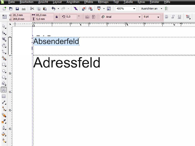 Coreldraw X6 Praxis Erstellung Von Geschäftsbriefen Corel