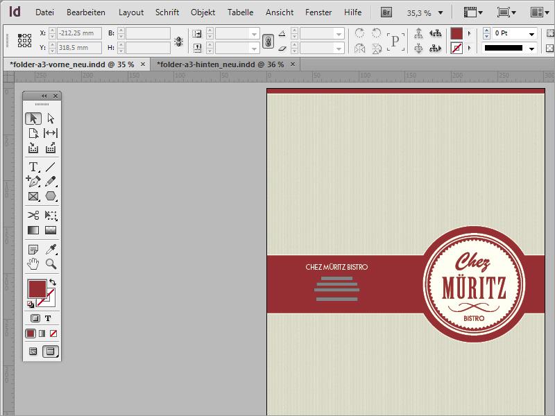 Speisekarten Gestalten In Adobe Indesign Indesign Tutorials De