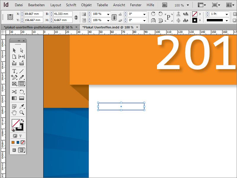 Plakat gestalten – in InDesign Text formatieren | InDesign-Tutorials.de