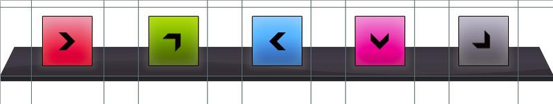 Das Dock als Screendesign