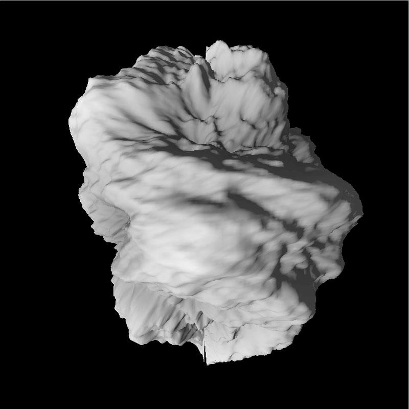 Asteroid fertig